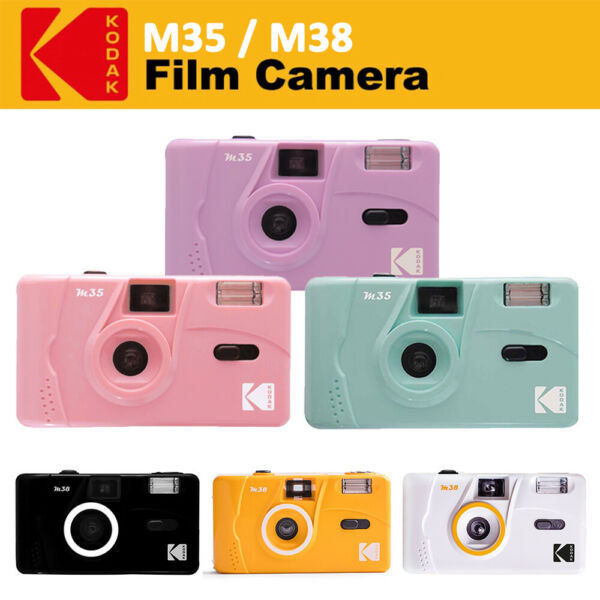 Genuine Kodak Vintage Retro M35 35mm Reusable Non Disposable Film Camera