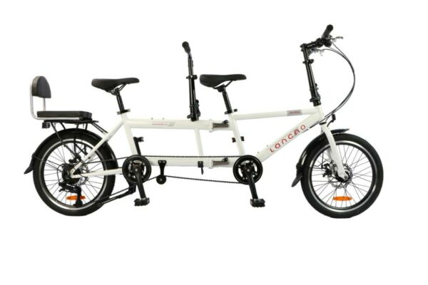 Ultra Lightweight Carbon Portable Folding 20in Six Speed Tandem Bicycle NEW $1299.00