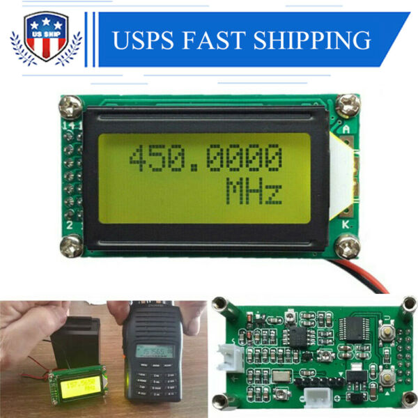 PLJ-0802-E 1 MHz ~ 1.1GHz Frequency Counter Tester Measurement For Ham Radio US