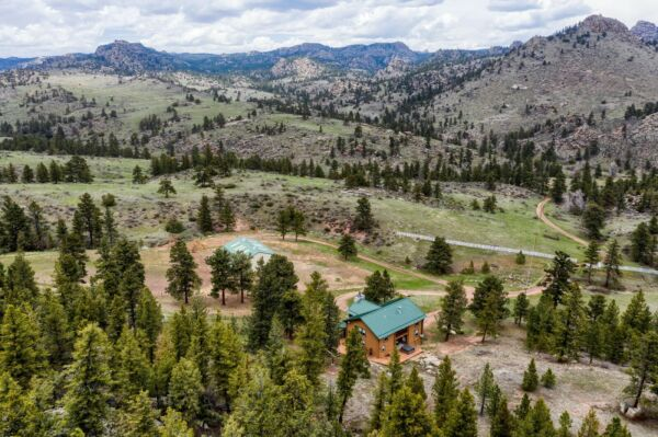 40 Acres in the Colorado Rocky Mountains Furnished!