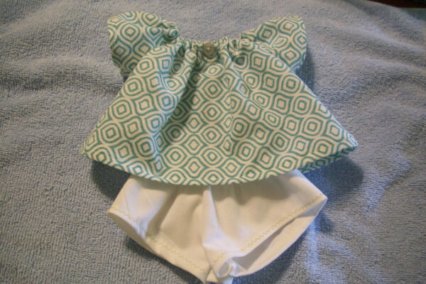 Doll clothes handmade for Cabbage Patch 14 inch dolls shorts top set (0530C)