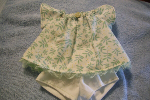 Doll clothes handmade for Cabbage Patch 14 inch dolls shorts top set (0530A)