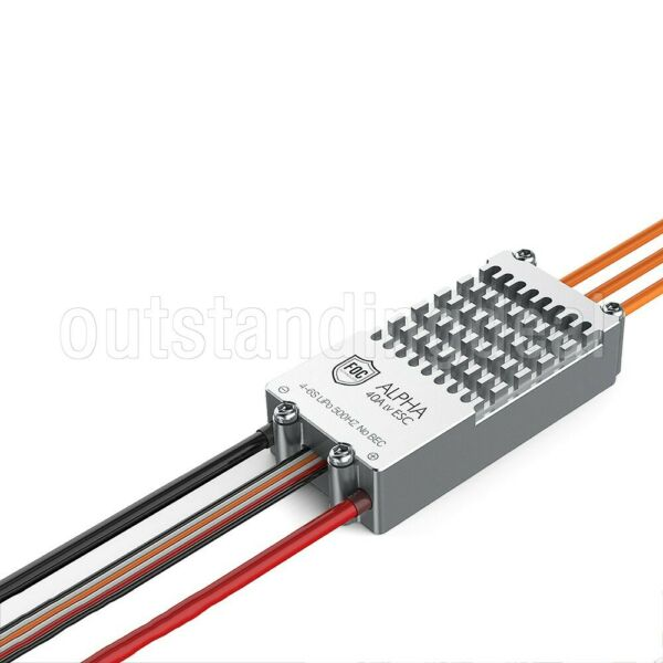 RC Airplane Brushless ESC FOC Speed Controller for RC FPV Plane ALPHA 40A ot16