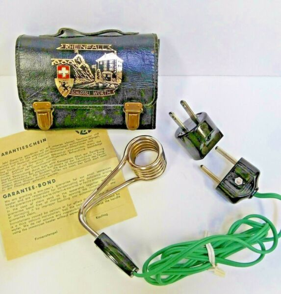 VTG Electric Portable Travel Immersion Water Heater $11.50
