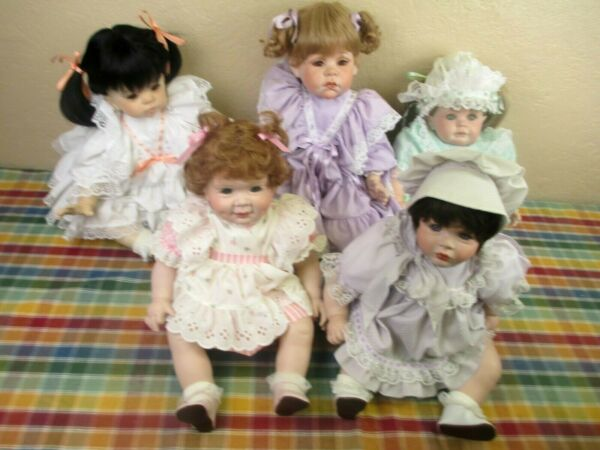 One Vintage Lifelike Baby Toddler Baby Girl Doll - Your Choice