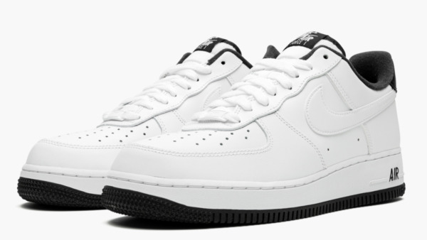 Nike Air Force 1 '07 1 Casual Shoes White Black CD0884-100 Men's NEW