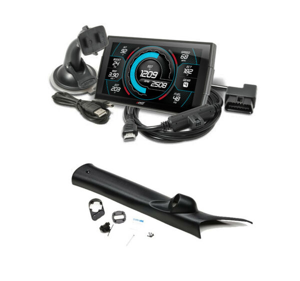 Edge Products Insight CTS3 Monitor & Mount For 2014-2017 ChevyGMC 2500 3500