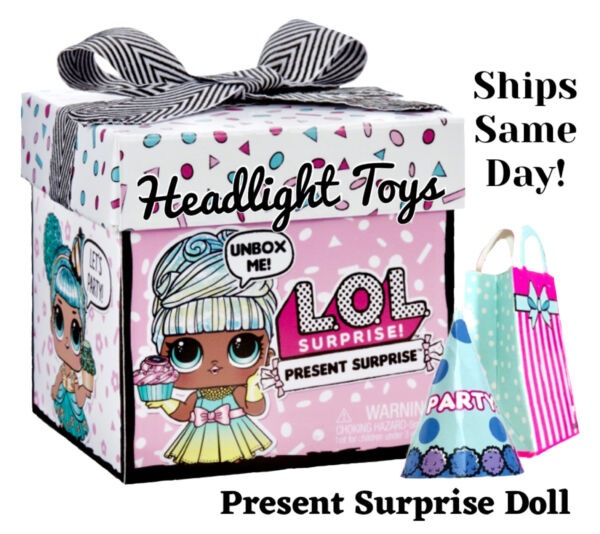 In Hand 1 LOL Present Surprise Gift Box Glitter Big Sister Birthday Party Doll