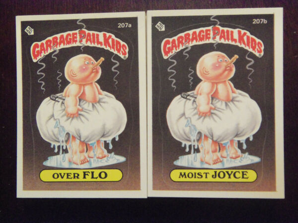 1986 Topps Garbage Pail Kids Series 6 Complete Numerical Set NM Mint Condition