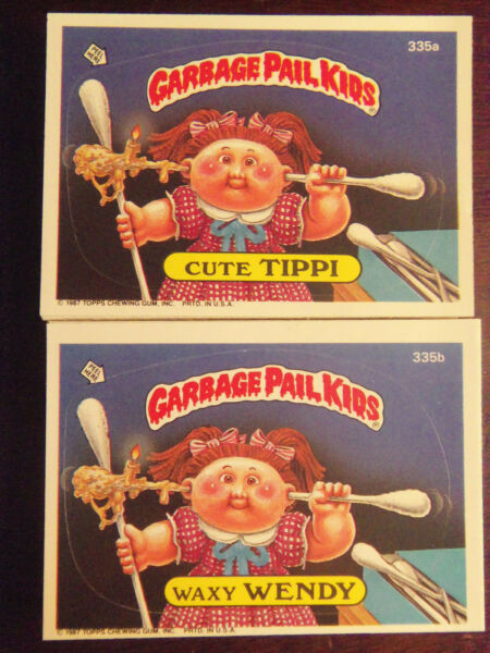 1987 Topps Garbage Pail Kids Series 9 Complete Numerical Set NM Mint Condition