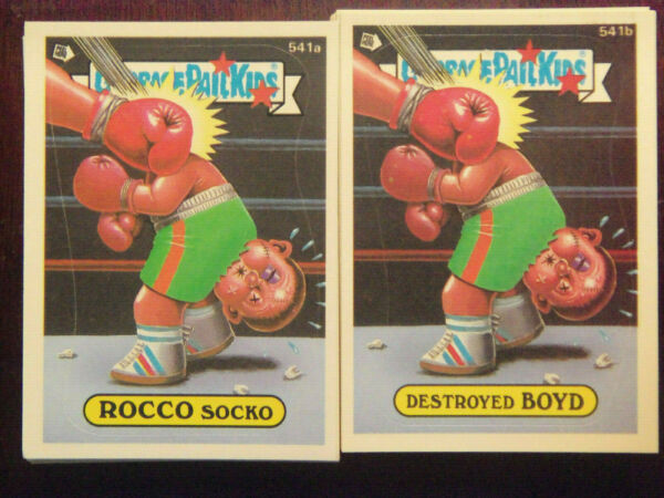 1988 Topps Garbage Pail Kids Series 14 Complete VARIATION Set NM Mint Condition
