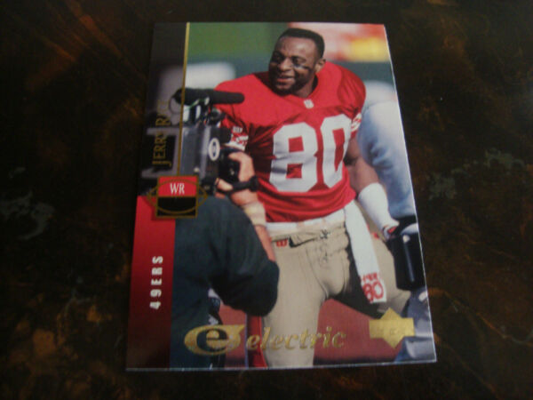 1994 Upper Deck Football Electric Gold #205 Jerry Rice $69.00