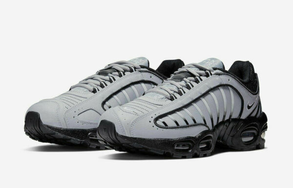 Nike Air Max Tailwind 4 Running Shoes Gray Black Reflective AQ2567-006 Men's NEW