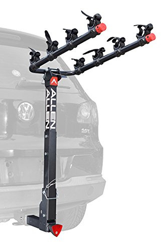 Allen Sports Deluxe Locking Quick Release 4 Bike Carrier for 2quot; Hitch $133.91