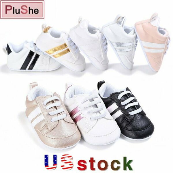 Girl's Boy's Baby Walking Trainers Toddler Casual Sports Kids Sneakers Shoes US