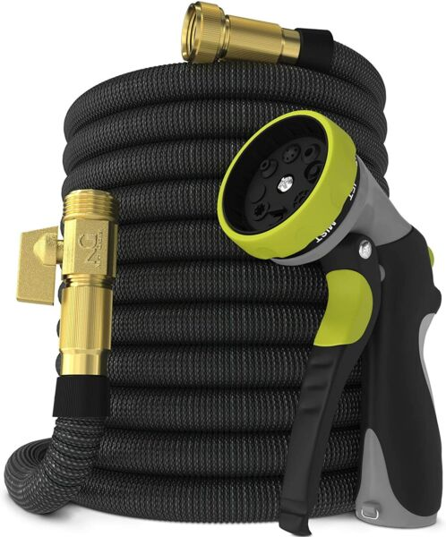 Nifty Grower 100ft Garden Hose Expandable Water Hose w Double Latex Core 3 4quot;