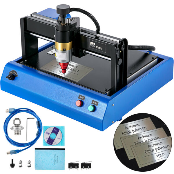 400W Electric Metal Marking Machine Dot Peen 300x200mm for Number Letter 110V US $511.90
