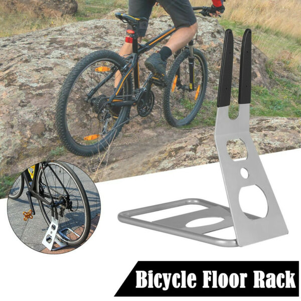 Adjustable Bicycle Floor Rack Parking Holder Display Stand for Mountain Bike $25.28