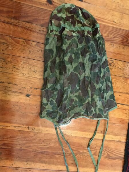 WWII MARINE CORPS CAMO JUNGLE NETTING K $49.95