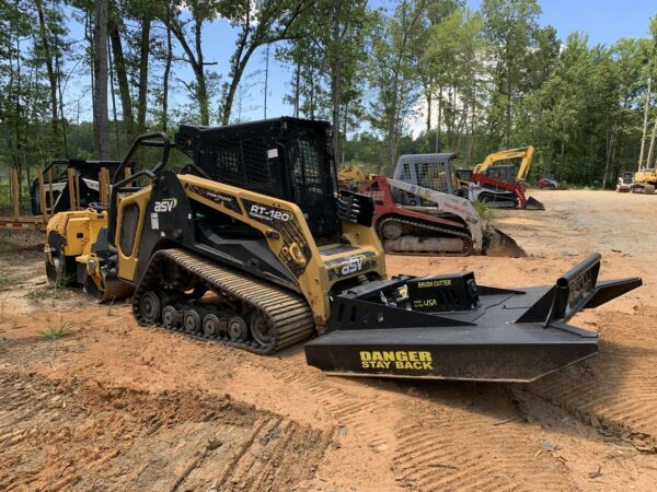 $66000!  - 2017 ASV RT-120F Forestry HI Flow Skidsteer LOADED w 189 hours