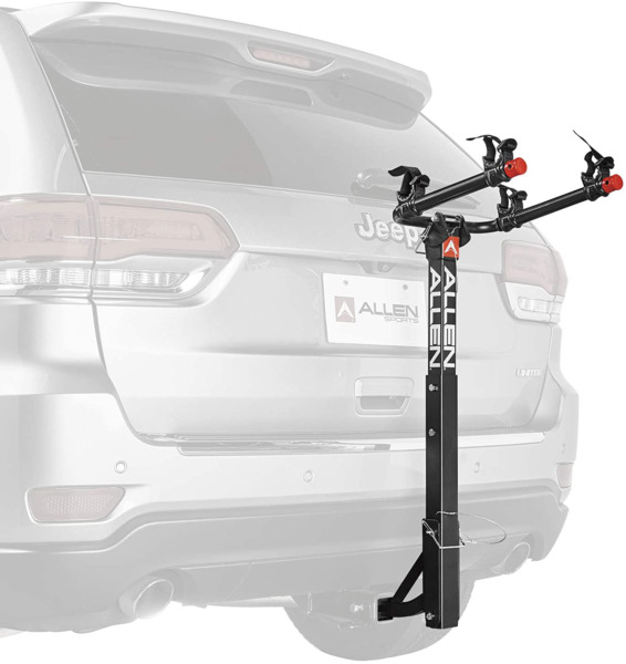 2 Bike Racks Hitch Mount For 1 1 4 in. amp; 2 in. Hitch Car Truck Outdoor Cycling $140.58