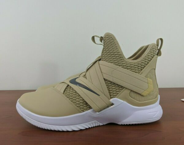 Nike LeBron Soldier XII 12 TB Team Gold Mens Sneakers AT3872-702 Size 13