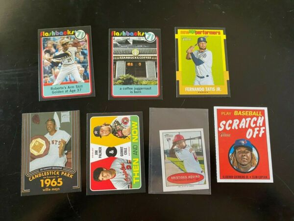 2020 Topps Heritage Inserts Complete your set you pick them