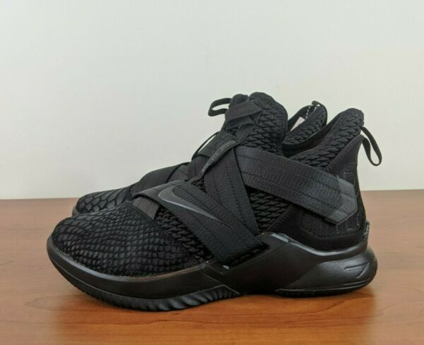 Nike Lebron Soldier XII SFG Mens Basketball Sneakers Black AO4054 003 Size 7.5