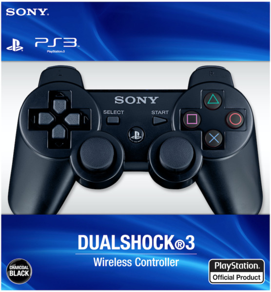 Sealed Black PlayStation 3 Dualshock Wireless Controller - Sony PS3 - Free Ship