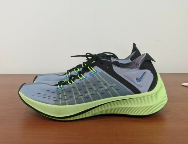 Nike EXP-X14 Mens Running Sneakers Photo Blue Grey Black AO1554 400 Size 8.5