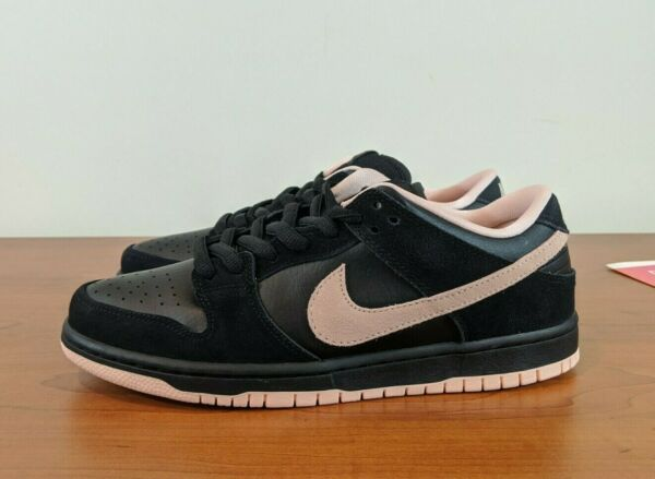 Nike SB Dunk Low Black Washed Coral Pink Men's Sneakers BQ6817 003 Size 8.5