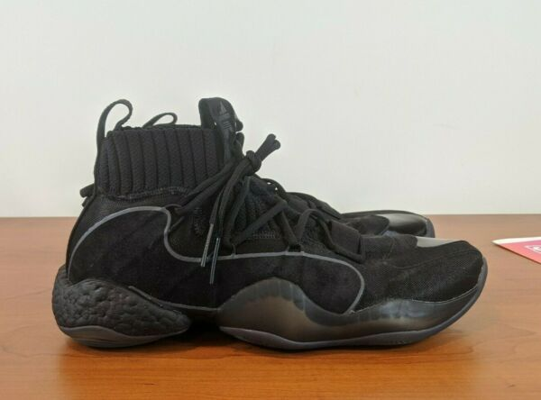 Adidas Crazy BYW X Pro Men's Basketball Sneakers Black Boost EE5999 Size 6 - 12