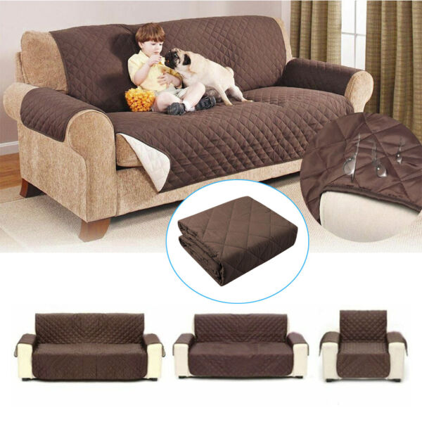 Pet Dog Waterproof Sofa Cover Chair Couch Slipcover Kids Mat Furniture Protector $17.59