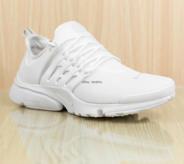 Nike Air Presto Ultra BR Women's Running Shoes Triple White 896277-100 Size 8.5