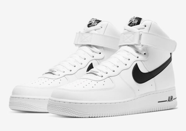 Nike Air Force 1 High '07 AN20 White Black CK4369-100 New Men's Shoes Size 14