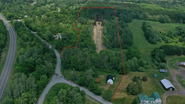 ***OWN 9 ACRES +/- OF LAND IN NORTHERN MAINE NEXT TO THE CANADIAN BORDER***