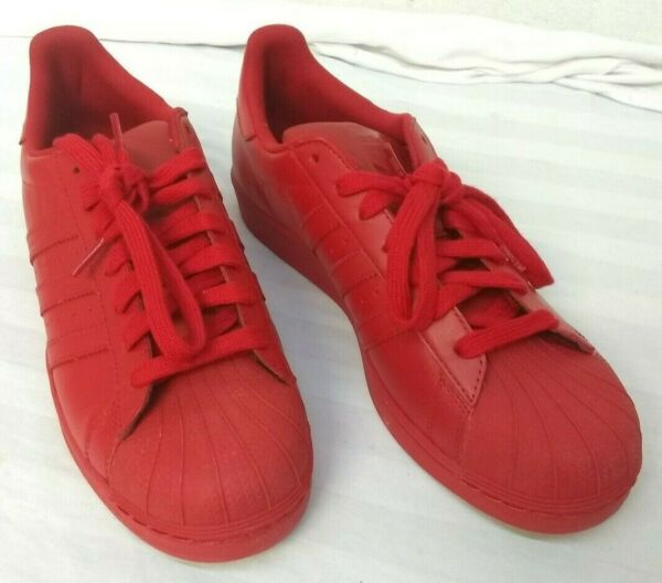 Adidas Superstar Supercolor Shoes Pharrell Williams Size 10 New in Box Red