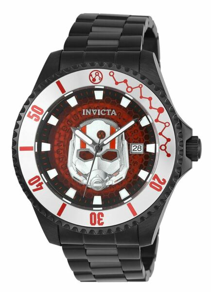 Invicta Marvel Ant Man Automatic Men's 47mm Limited Edition Watch 27781 RARE $159.50