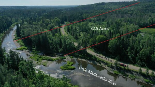 ***OWN 32.5 ACRES +/- OF LAND IN NORTHERN MAINE NEXT TO THE CANADIAN BORDER***