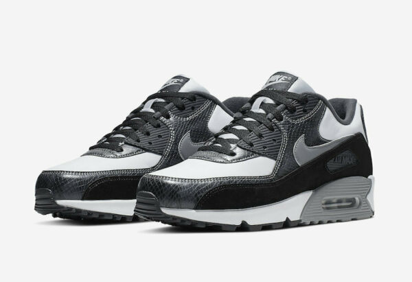 Nike Air Max 90 QS Python White Particle Grey CD0916-100 New Men's Size 11.5