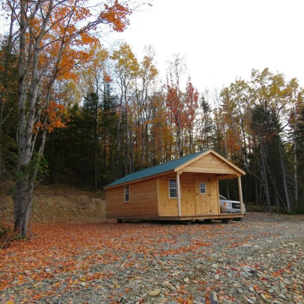 ***OWN 40 ACRES +/- OF WITH CABIN  NORTHERN MAINE ***