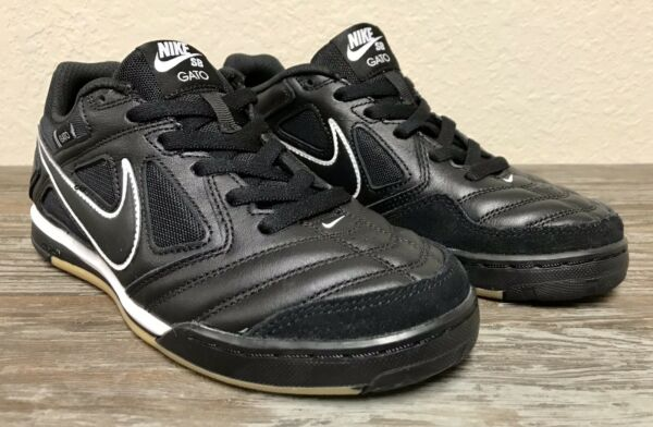 Nike SB Gato 'Black' Skateboard/Soccer Shoes Sneakers AT4607-001 Men's Size 6