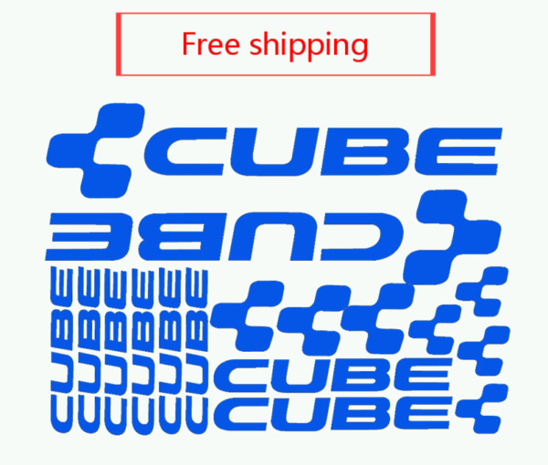 Bike Frame sticker CUBE MTB cycling Bicycle decal Road bike accessories stickers $9.99