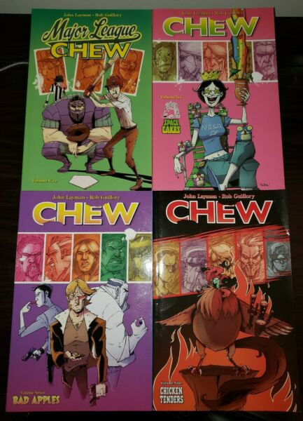 Chew Vol. 5 6 7 9 TPB Lot Image Comics John Layman Rob Guillory $15.00
