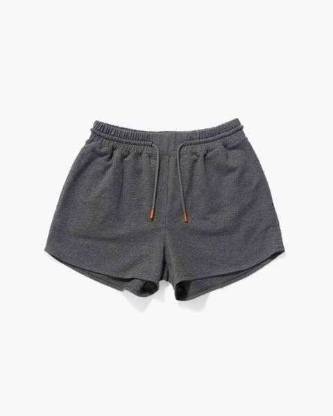 Richer Poorer Terry Sweatshorts in Charcoal Heather Grey Size Small $42.00