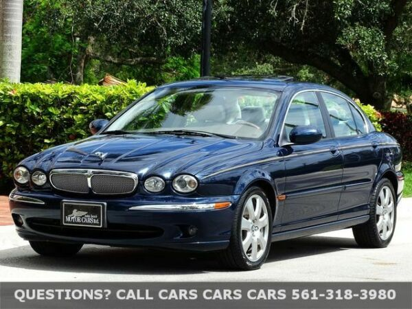 2006 Jaguar X-Type  FLORIDA IMMACULATE-BEST COLOR COMBINATION-ALPINE SOUND-NEW TIRES-NONE NICER