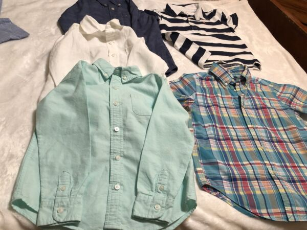 Janie amp; Jack Shirt Lots Polo Ralph Lauren and Tommy Boys Size 5 $45.00