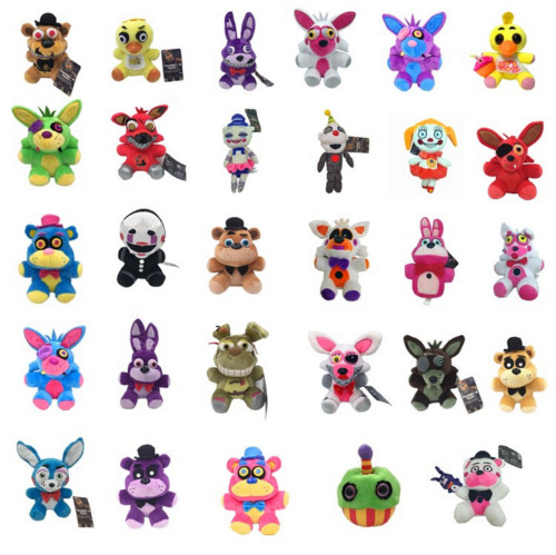 Cool Five Nights at Freddy & Sister Location Plush Toy Stuffed Doll Kid US