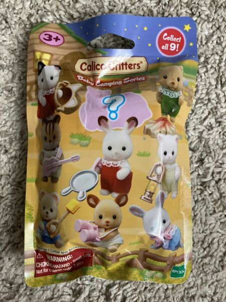 Calico Critters Baby Camping Series Mystery Pack - Collect All 9!!! Brand NEW!