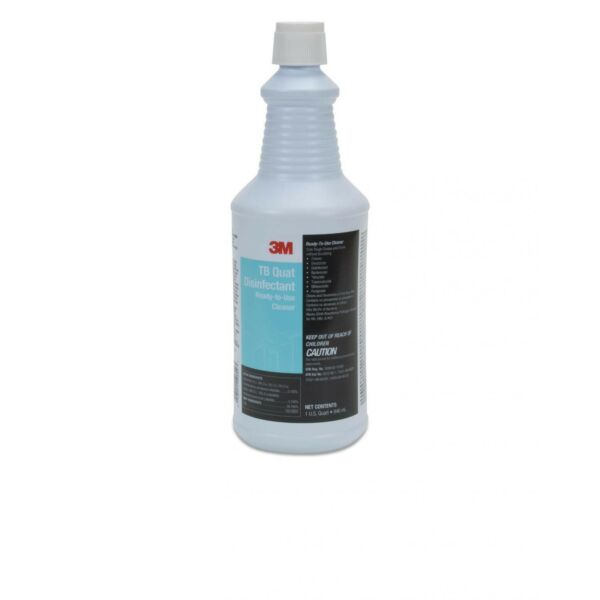 3M TB Quat Virucidal Disinfectant Ready To Use Cleaner 1qt Bottle w Free Sprayer $14.00